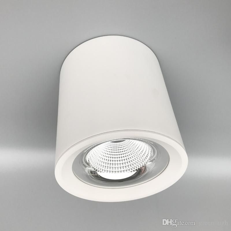 See larger image & LED Cylinder Ceiling Down Light COB Suspended Pendant Spotlights ... azcodes.com