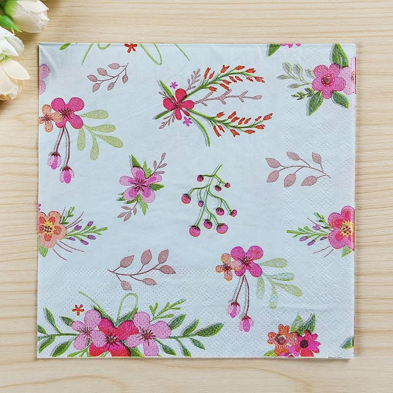 2018 wholesale party supplies flower paper napkin tissue decoupage 2018 wholesale party supplies flower paper napkin tissue decoupage decoration wedding party decoration dinner table supplies from hobarte 3161 dhgate mightylinksfo