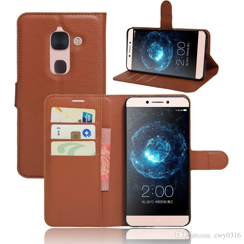 new concept 4a38f d8fc2 LeTv Leeco Le Max2 X820 Flip Case Cover Wallet Style PU Leather Case Stand  Function Card Hold Leather Cases For Leeco Le max 2