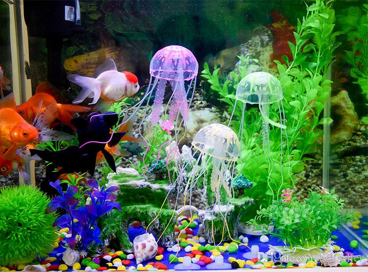 Best new cute fluorescent glowing effect jellyfish for Cute fish tanks