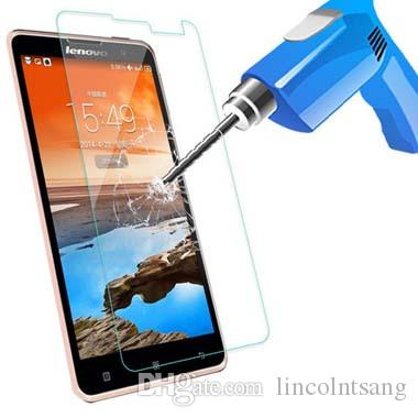 Tempered Glass Screen Protector Film For Lenovo P1M/P1/A1000/A2010/A5000/A6000/A7000/UZK Z1/A536/A319/A369/S580/ Screen Film