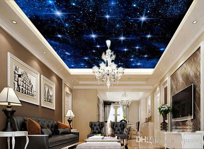 3d Wallpaper Custom Mural Non Woven 3d Room Wallpaper Star Studded Night Sky  Ceiling Design Photo Wallpaper For Walls 3d Desktop Wallpaper Wide Desktop  ... Part 67