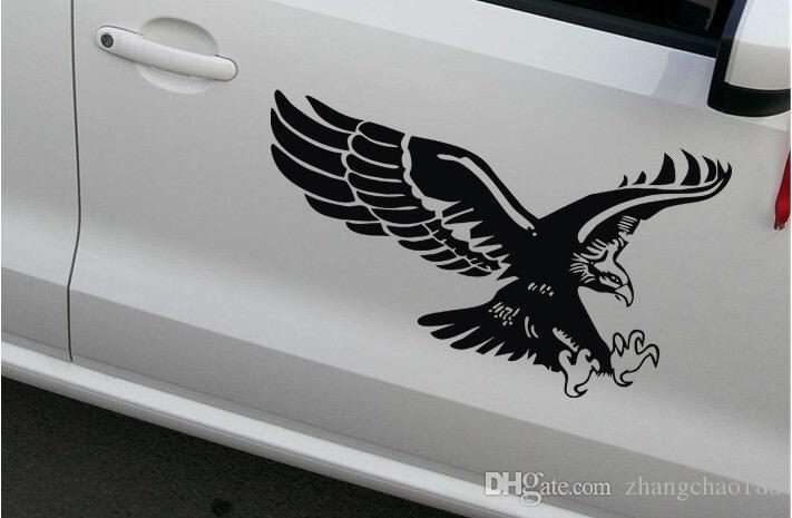1 unid The Personalized Modified Car Decals Eagle Car Cover Stickers Eagle Stickers Car Door Stickers