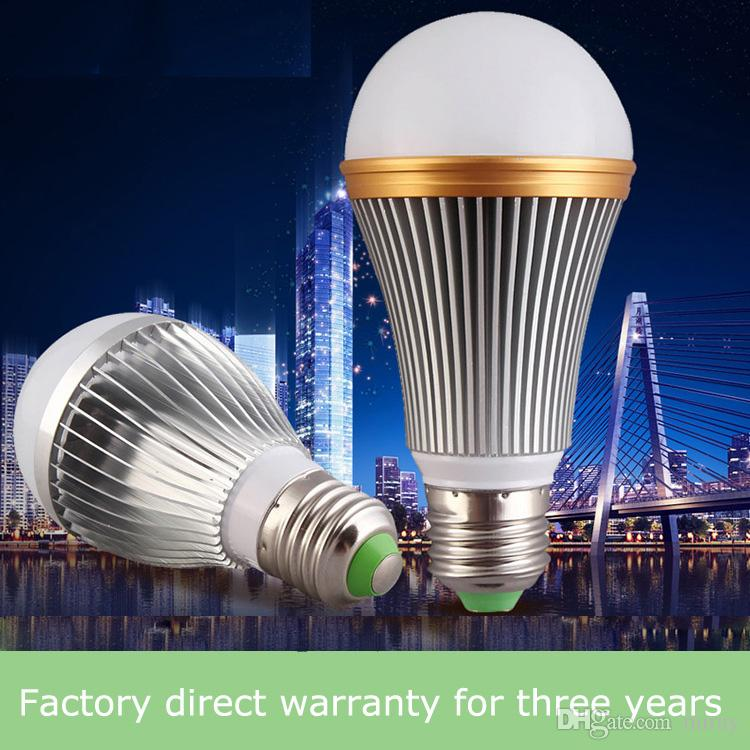 Led bulb e27 screw plastic package aluminum high Fu Shuai bulb light radar sensor bulb, lead-free aluminum led bulb wholesale