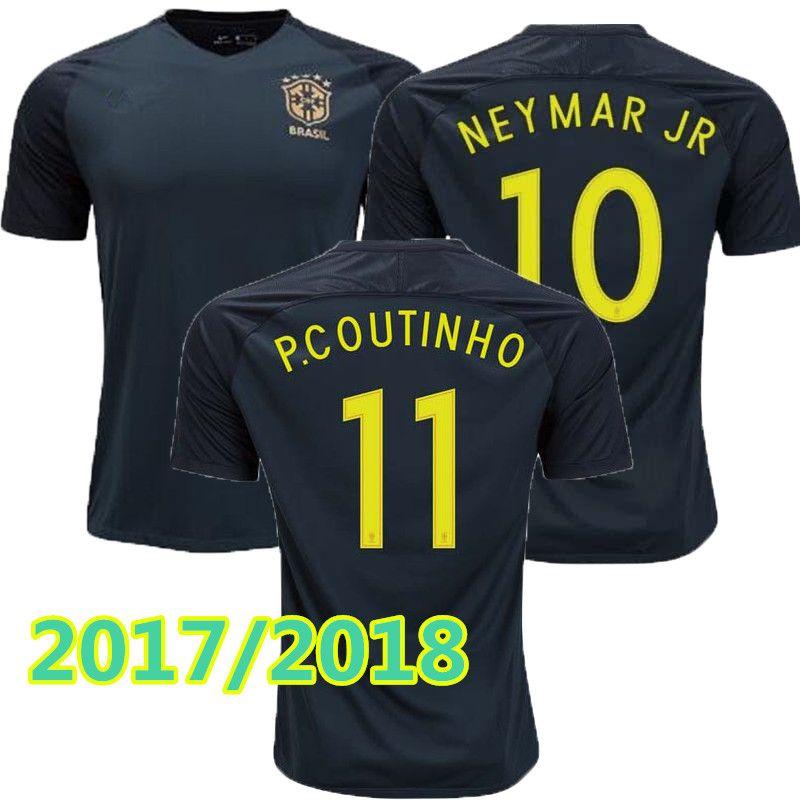 62209656955 ... inexpensive new brazil jersey 2017 2018 soccer jersey camisa de futebol  brasil neymar oscar home away
