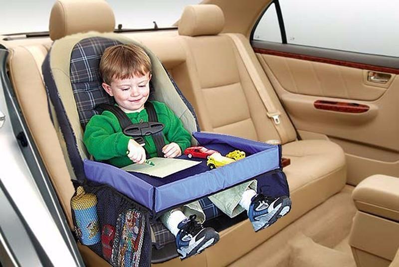 Baby Car Waterproof Safety Seat Snack Play N Travel Tray Kid Lap Board Table Pushchair Snack Tray