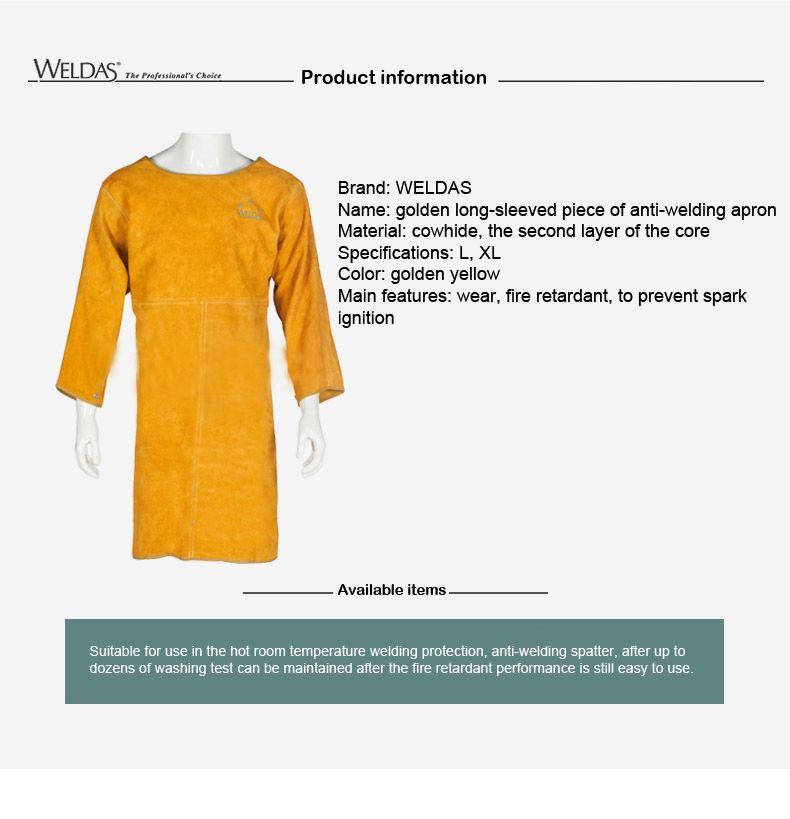 Воловья кожа сварки фартук услуг защитная одежда рабочая одежда