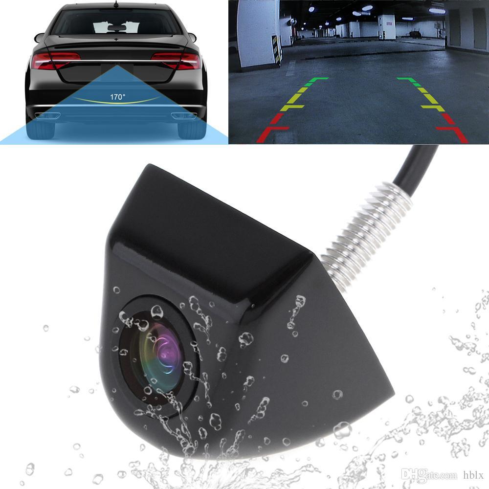 Cámara de visión trasera a prueba de agua de gran angular de 170 grados Cámara de estacionamiento reversa con visión nocturna para vehículos CAL_00S