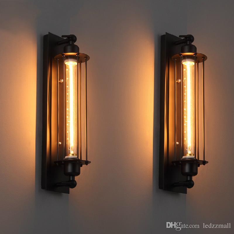Compre La Lámpara Industrial De La Pared De Edison De La Vendimia ...