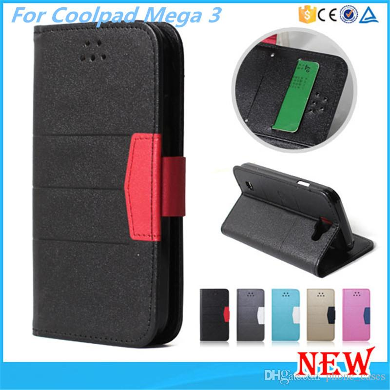 Wallet Flip Diamond Case PU Leather Card Slot For Coolpad Mega 3 For ZTE  Grand X4 Z956 Tempo N9131 iPhone 7 Samsung