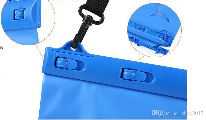 حزمة ثلاثية الأبعاد للماء الغوص السباحة الينابيع الساخنة الانجراف جيوب حقائب السفر الهاتف المحمول التخزين الجاف