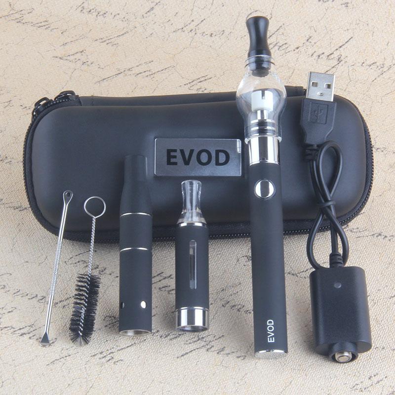 MOQ 2 PZ 3 in 1 VAPE STARTER KITS EVOD 510 batteria 650 900 1100 mAh vapes penna mt3 vapore olio fa asciutto Herb Globe Globe Wax Wee kit vaporizer