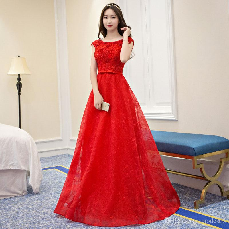 Host Engagement Gown Female Birthday Party Evening Gown Long ...