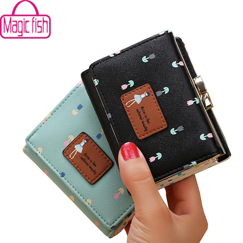 Wholesale Magic Fish Wallet For Women Dollar Price Short Leather Purse High  Quality Wallets Brands Purse Female Bag Money Bag LM4265mf Cool Wallets  Front ... 6c0a0b961