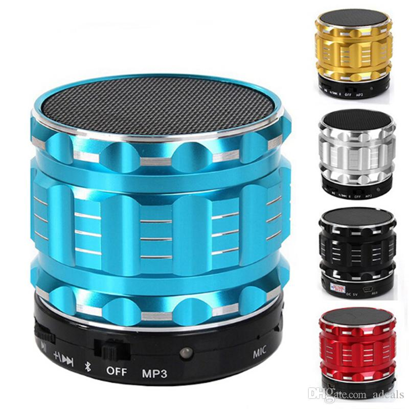 Original Mini Wireless Portable Bluetooth Speaker Hifi Sound Box Boombox Digital Stereo Column Blutooth Speakers Loud speakers