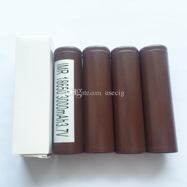 Original 18650 akku hg2 3000 mah 30a max wiederaufladbare batterien mit hohem abfluss passt für ecig 18650 box mod lg 18650 lithium-zelle