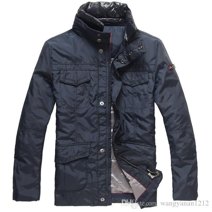 mannen korte paragraaf Nieuwe mannen donsjack om warme jassen te houden