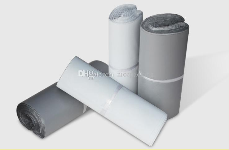 Self-seal/adhesive Express Shipping Bags Courier Mailing Plastic Bag Envelope Courier Post Postal Mailer Bag whiite