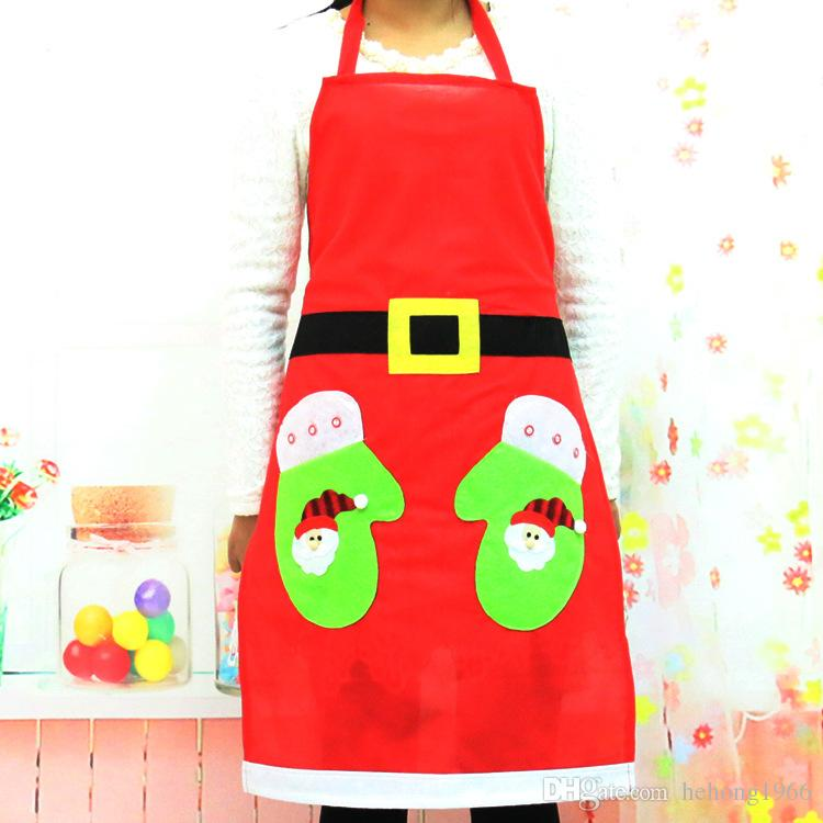 christmas apron restaurant kitchen cook durable uniform xmas decor supplies creative party festive tool hot sale 8 2qy f r apron meaning cooking apron from - Christmas Apron