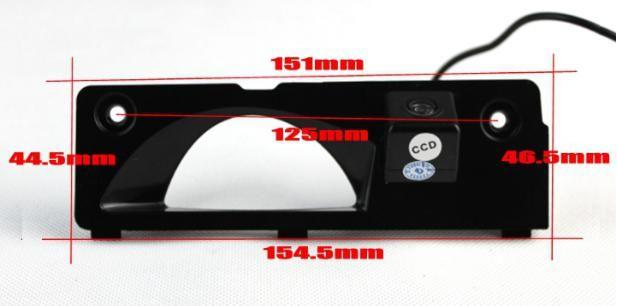 Car Camera For Honda Odyssey Rear View Camera / HD CCD RCA NTST PAL / Reverse Hole OEM