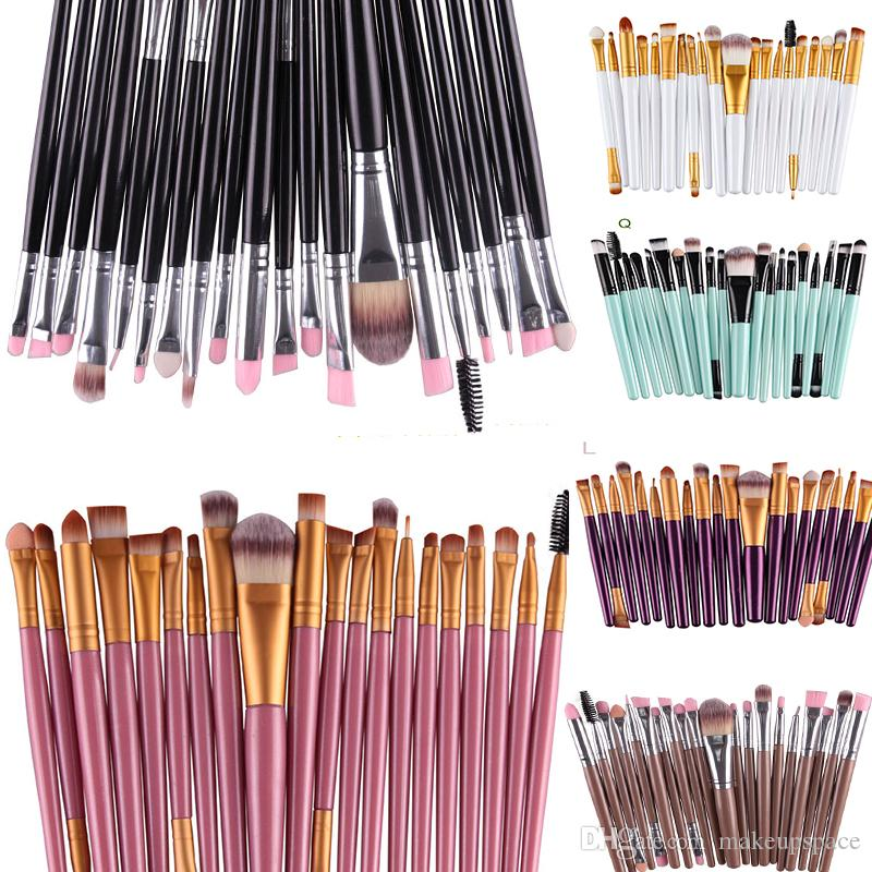 Großhandel Professionelle 20 Stücke Make Up Pinsel Set Make Up