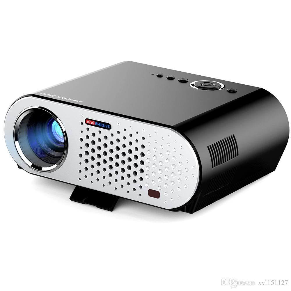 Yg310 Lcd Projector 600lm 320 X 240 1080p Mini Portable Hd: 2019 Full Color 200inch Screen LED Projector LCD 3200