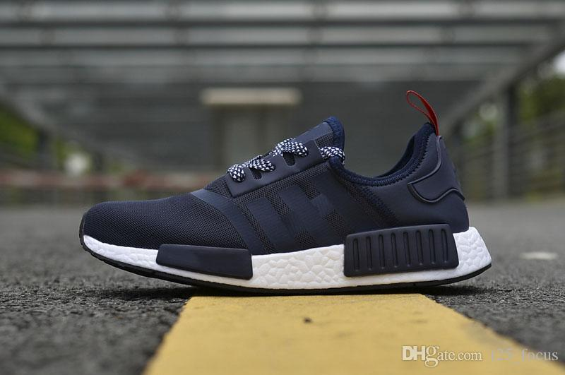 best loved 23010 f91c3 2019 In Stock NMD R1 Red Black Leisure Shoes NMD R1 Top Quality Comfortable  Men Women NMD R1 Casual Basketball Shoes By DHL From T25_focus, $49.25 | ...
