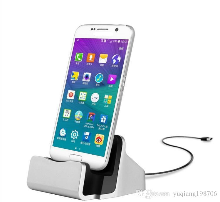 Mobile Phone Use and Electric Type Type-C Dock Charger charging Sync Desktop USB Cradle Station for Smartphones+