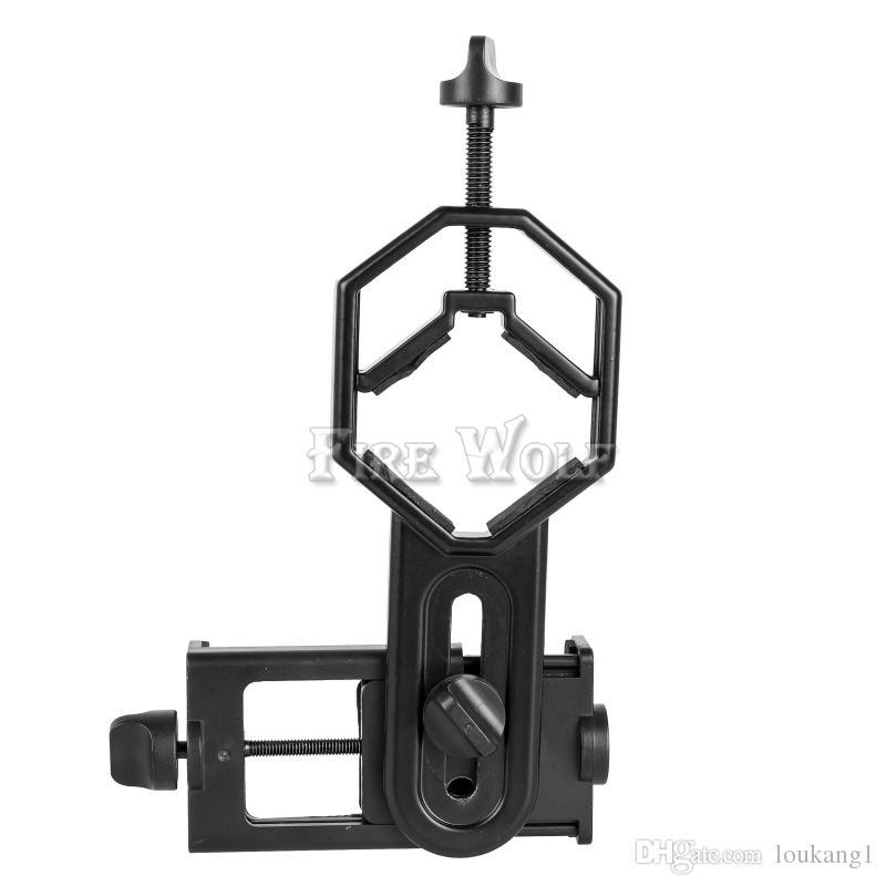 Adattatore cellulare universale FIRE WOLF compatibile con cannocchiali binoculari monoculari Telescopio e microscopio adattivi