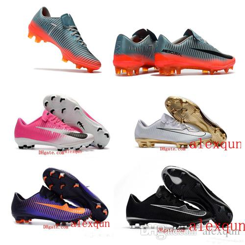 release date 5a400 efd7d ... coupon code for new original cheap men soccer shoes mercurial vapor xi  fg soccer cleats mercurial