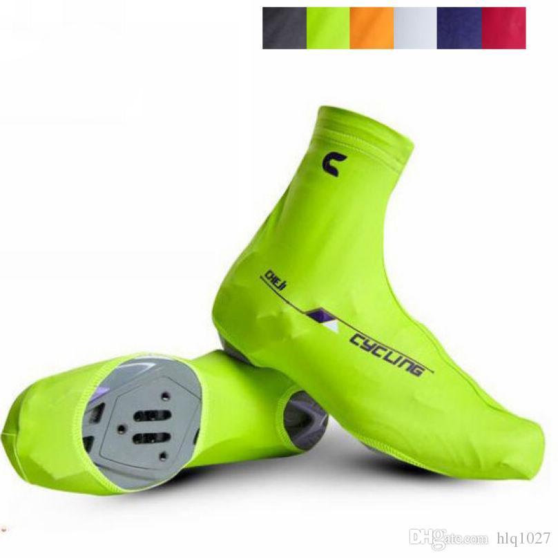 Spor MTB Bisiklet Galoş Polyester Neopren Bisiklet Ayakkabı Kapak Açık Su Geçirmez Anti-aşınma Ayakkabı Kapak Yeni Ücretsiz Kargo
