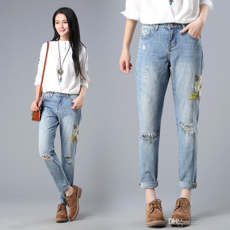 sexy Frauen Jeans