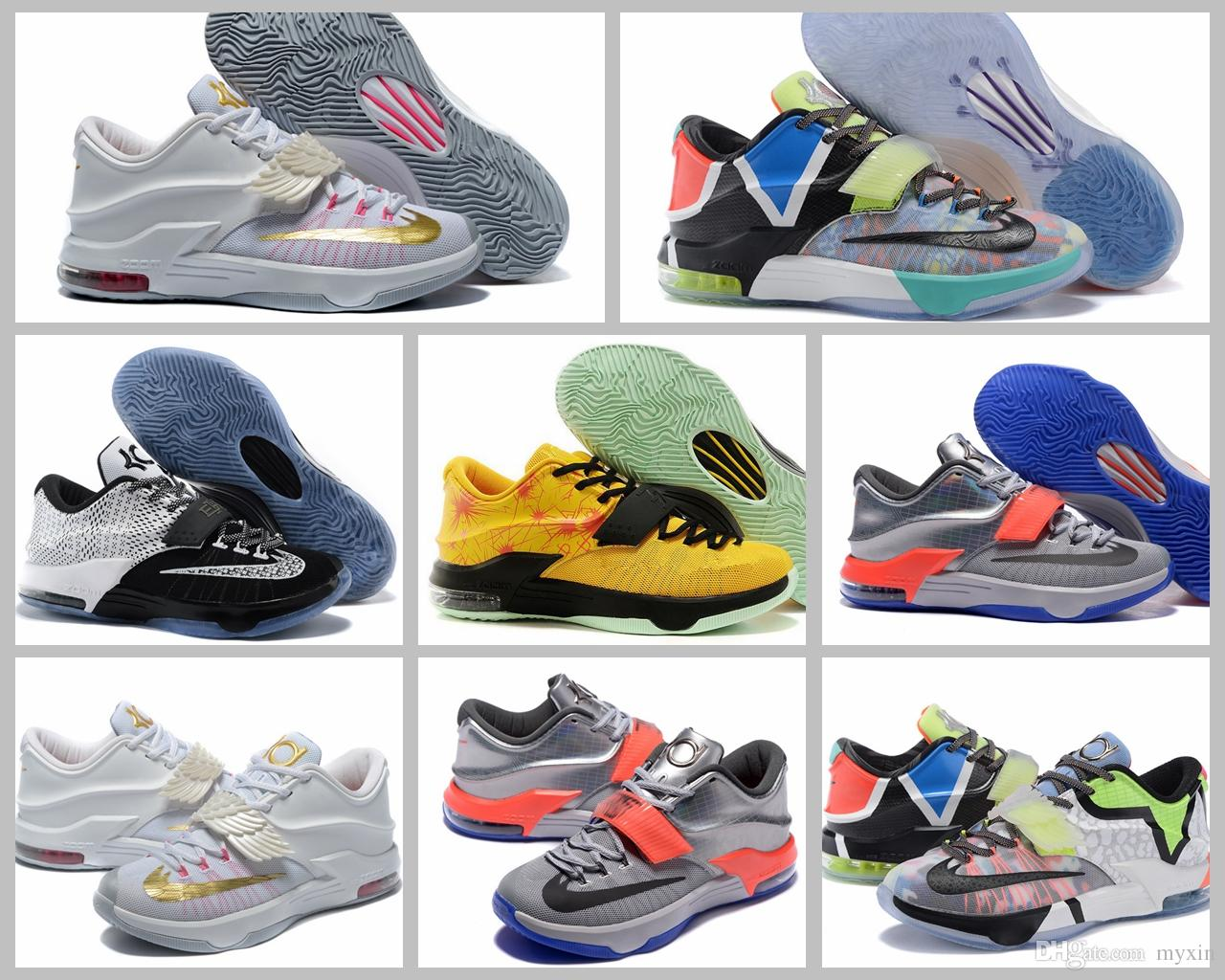 2017 Kevin Durant 7 What The Basketball Shoes For Men KD7 ...