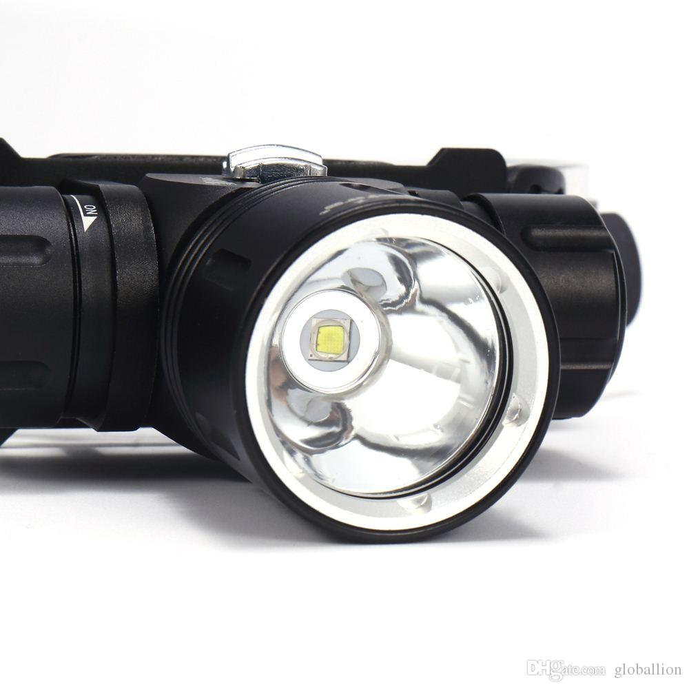 AloneFire DV42 Underwater Diving lights Lighting Headlights 6000 lumens XML L2 Led Scuba Dive Headlamp Waterproof Head Torch Lamp