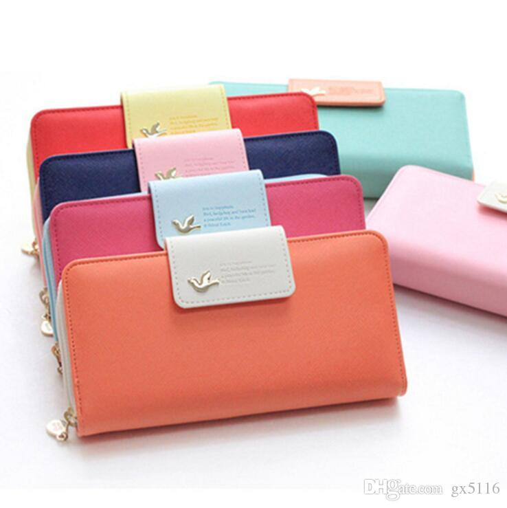 d762b3e92ce Luxury Designer Famous Brands Long Women Wallets Card Holder Women's  Clutches Purse Money Bag Walet Cuzdan Portomonee Free Shipping