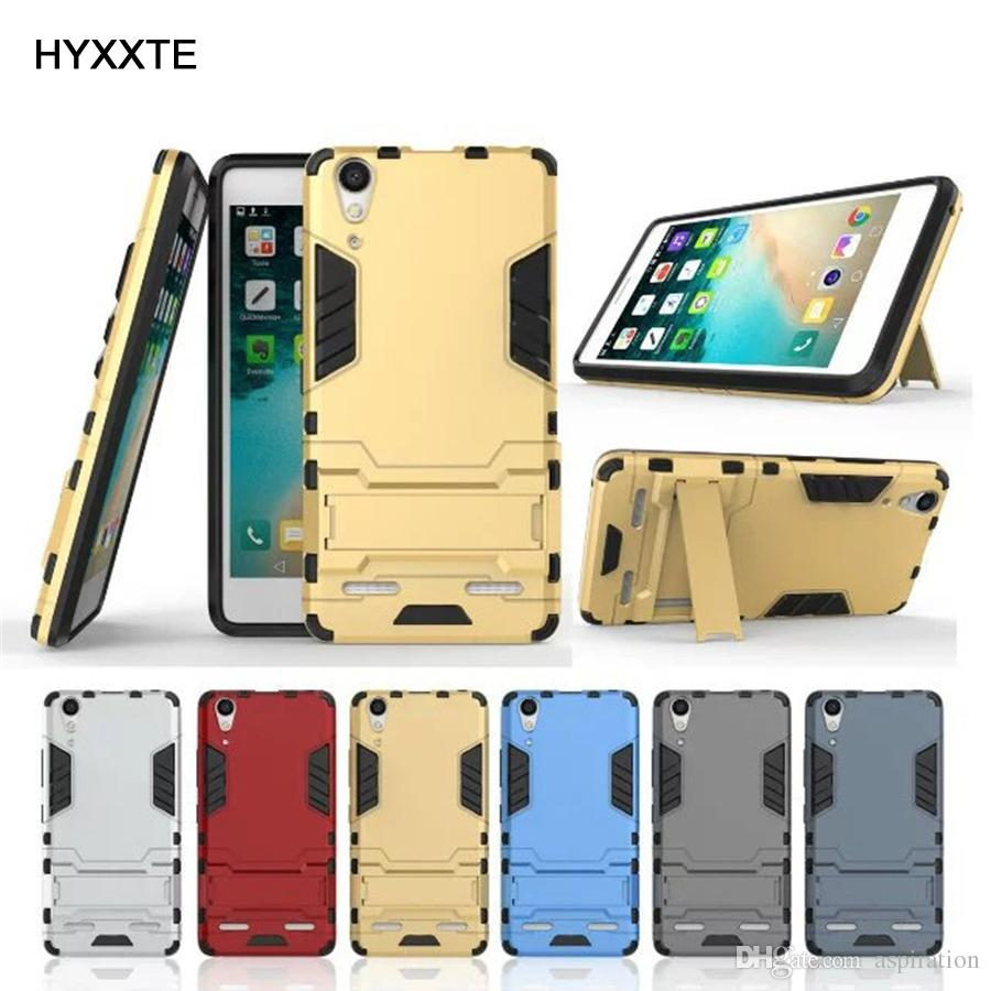 watch d576f a0849 Armor Hard Case Cover for Lenovo A6000 A7000 Huawei Honor V9 Meizu Noblue  5S Hybrid Combo Heavy Duty Tough Protective Shell with Kickstand