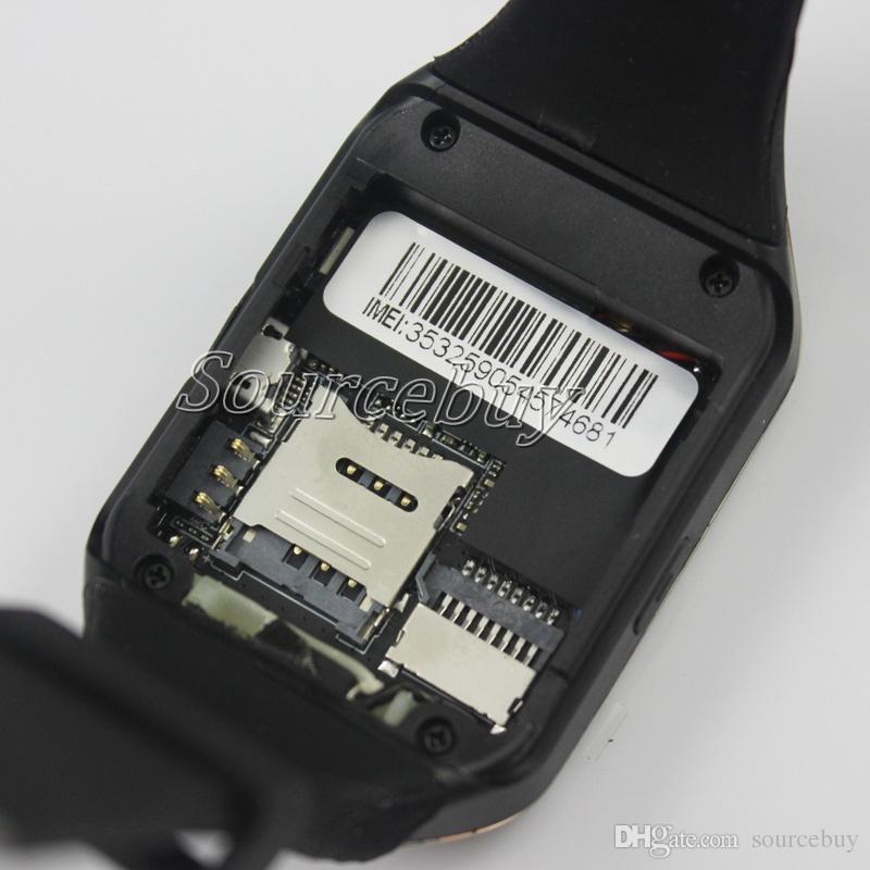 Bluetooth Smart Watch Q18 Smart Bracelet NFC Connect Caméra distante Caméra SIM TF Sans fil SmartWatch pour iOS Android Samsung Phone Boîte de détail