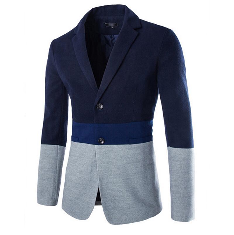 Acheter Vente En Gros Nouveautés De La Mode Masculine De Haute Qualité En  Pur Coton Pour Hommes Costume Veste Homme Long Blazers Homme Blazer Veste  De ... 6167fc17e45