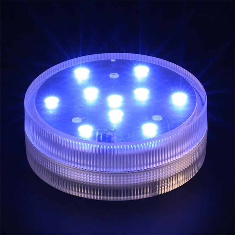 Tauch LED-Licht mit Fernbedienung für Zuhause Vase Beleuchtung Batterie betrieben LED-Licht Basis Innenbeleuchtung für Hochzeit Dekoration