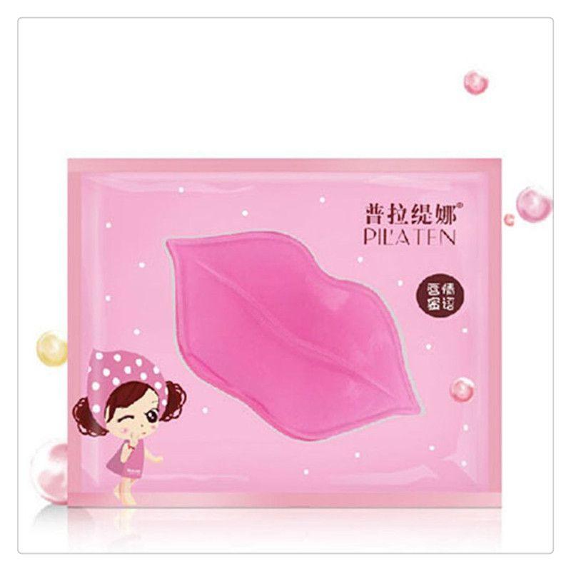 PILATEN Lip Masks Crystal Lip Care Masks Face Care Gel Film Paste Collagen Membrane Moisturizing Hydrating Lips Care Gel Crystal Free DHL