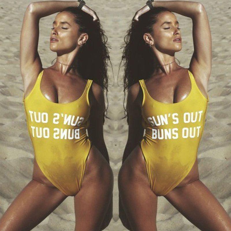 High Waist Bikini Women Swimwear Bikini Print bathing Swim Suits BARBIE Swimsuit Jump Suit Beachwear Trikini Black XL Bodysuit