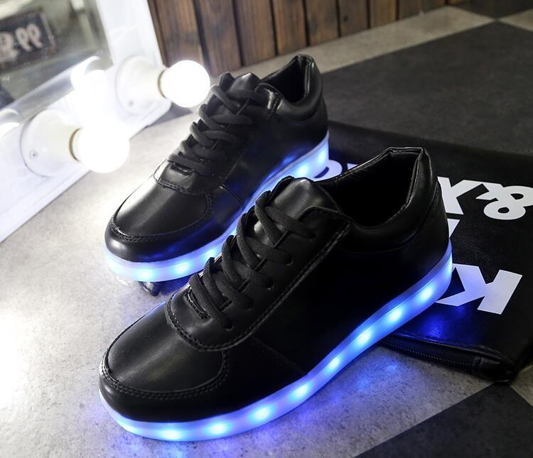 42e4f0dc978a3 New Foamposites Light Up High Top Sports Sneakers Shoes Women Men ...