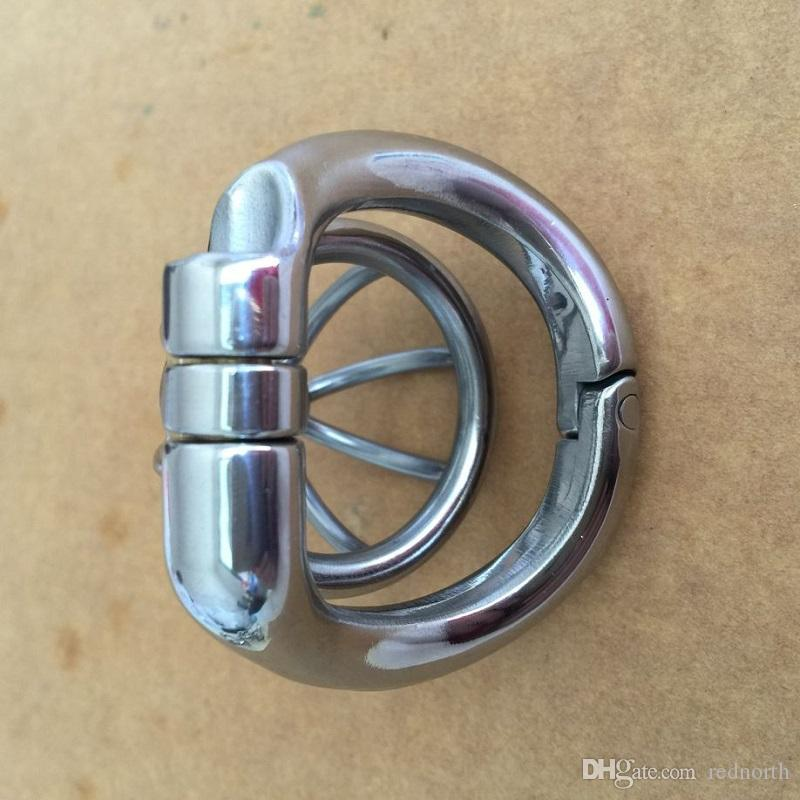New Ringr Design Super Small Male Chastity Belt Stainless Steel 42mm Chastity Cage Chastity Device For Men