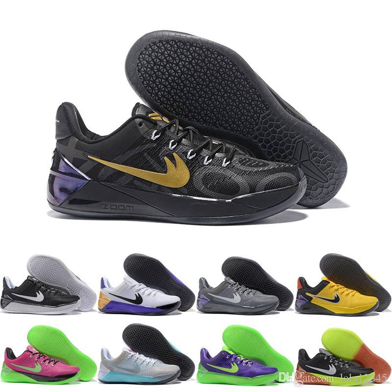 2017 Men Casual Shoes Cheap Kobe A.D 12 XII High Quality KB 12S Basketball  Shoes Training Boots Size US 7-12 Men Shoes Kobe 12 Kobe AD Online with ...