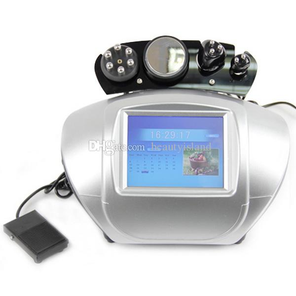 4 in 1 Ultraschallkavitation RF Maschine Ultraschallkavitation Radiofrequenz Bipolar Multipolar Sixpolar RF für Hautpflegefett reduzieren