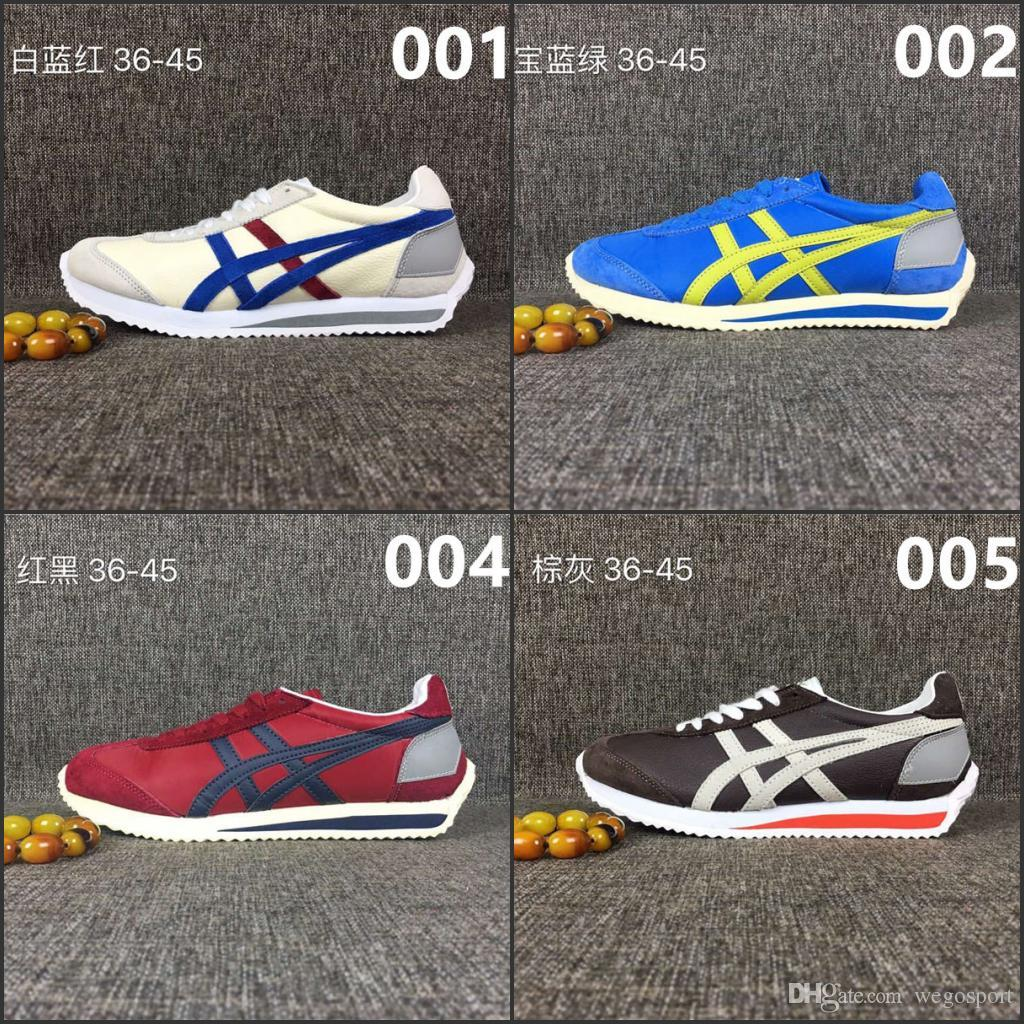2017 Discount Price Asics Onitsuka Tiger Running Shoes Men Women Simple  Style Athletic Outdoor Sport Shoes Sneakers Eur36-44 Running Shoes Asics  Basketball ...