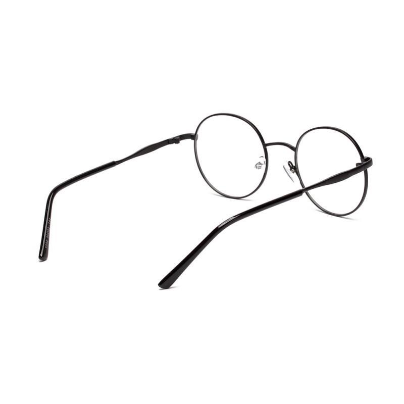 f68f237e33 2019 Wholesale Women S Metal Frame Eyewear Designer Nerd Geek Girls Round  Glasses Clear Lens From Ekkk