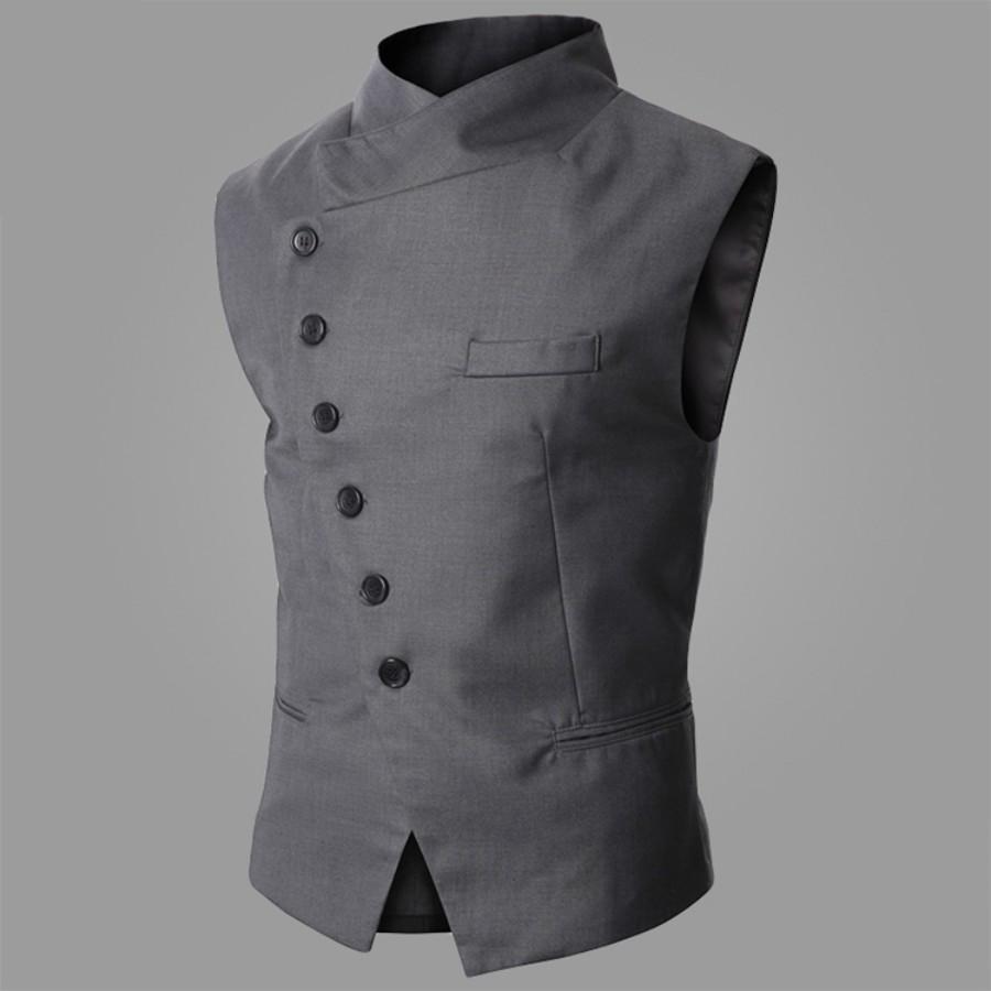 2017 Wholesale 2017 New Arrival Dress Vests For Men Formal Vest ...