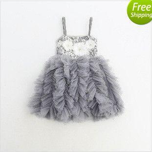 3014cfdf6 2019 Baby Girls Lace Tutu Dresses 2017 Christmas Dress Autumn Winter ...