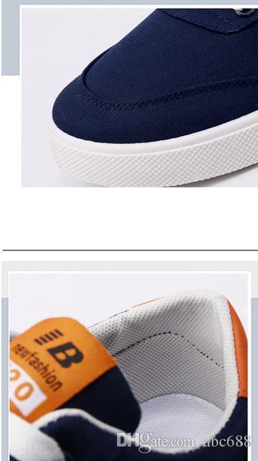 Bize boyutu: 6,5-10 Erkek ayakkabıları rahat ayakkabı erkek erkekle de Erkekler Zapatos için nefes Erkek moda klasik açık ayakkabılar yassı Mens